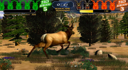 Does shooting at this buck make you feel like a man?