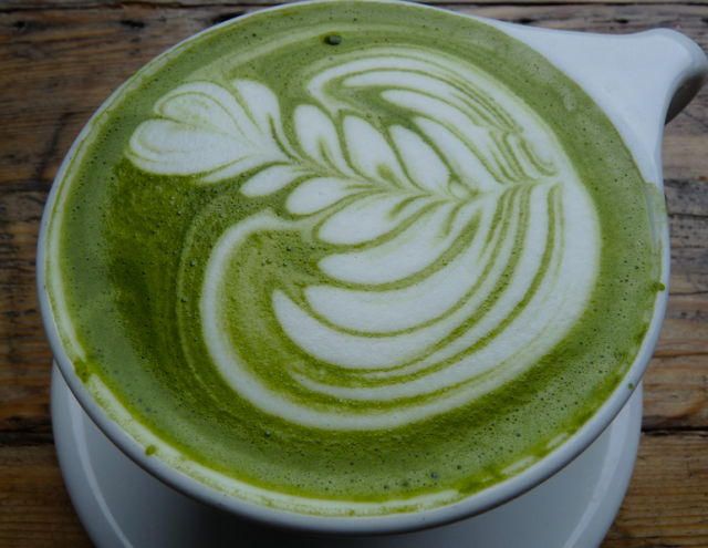 "Yes, there is such a thing as ""matcha art"""