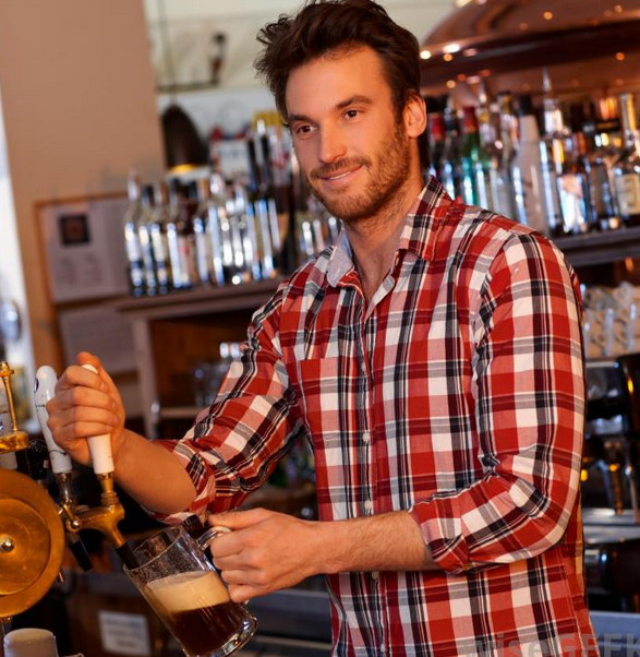 Now here's a bartender you can get on board with.