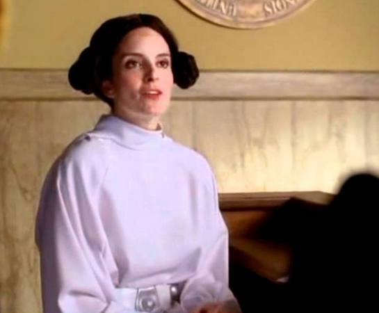 Tina Fey/Liz Lemon is the exception to the Star Wars enthusiast rule