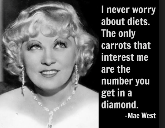 Mae West: the original charming bitch