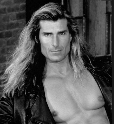 Fabio didn't put his long locks into a bun, neither should you