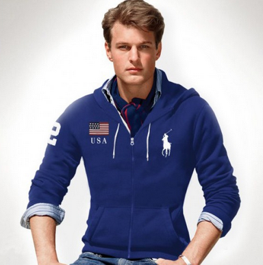 "This ""man"" wears Ralph Lauren"