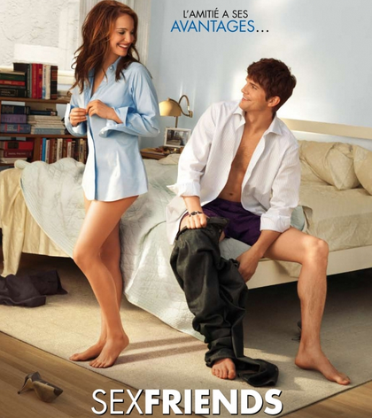 The movie (which the French call Sex Friends) that vehemently disproves the no strings attached trope