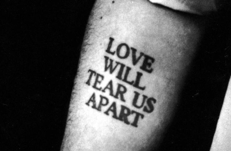 Men Who Bear A Love Will Tear Us Apart Tattoo Missing A Dick